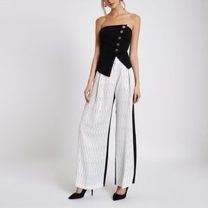 River Island Tops - Button Front Bandeau Top